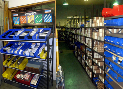 Fasteners & Specialties - Inventory Management Program. Our programs include Custom Made Specials, Bin Stocking, JIT Programs, Computer Controlled Stocking